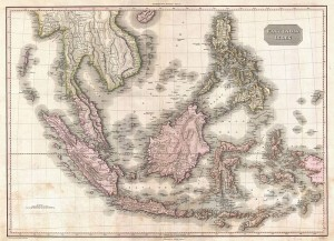 Map of the East Indies and Southeast Asia. Pinkerton.1818.
